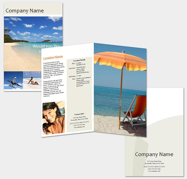Brochue gấp đôi