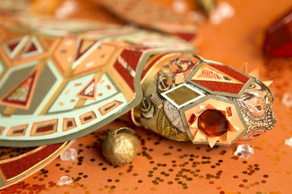 Dự án Cabinet de Curiosités – Nghệ thuật cắt giấy