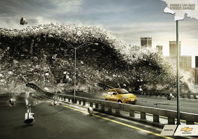 Những thiết kế quảng cáo cảm hứng Ngày Tận Thế