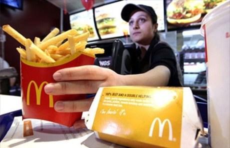 Lịch sử Giá trị thương hiệu McDonald's .