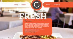 Website của những nhà hàng nổi tiếng