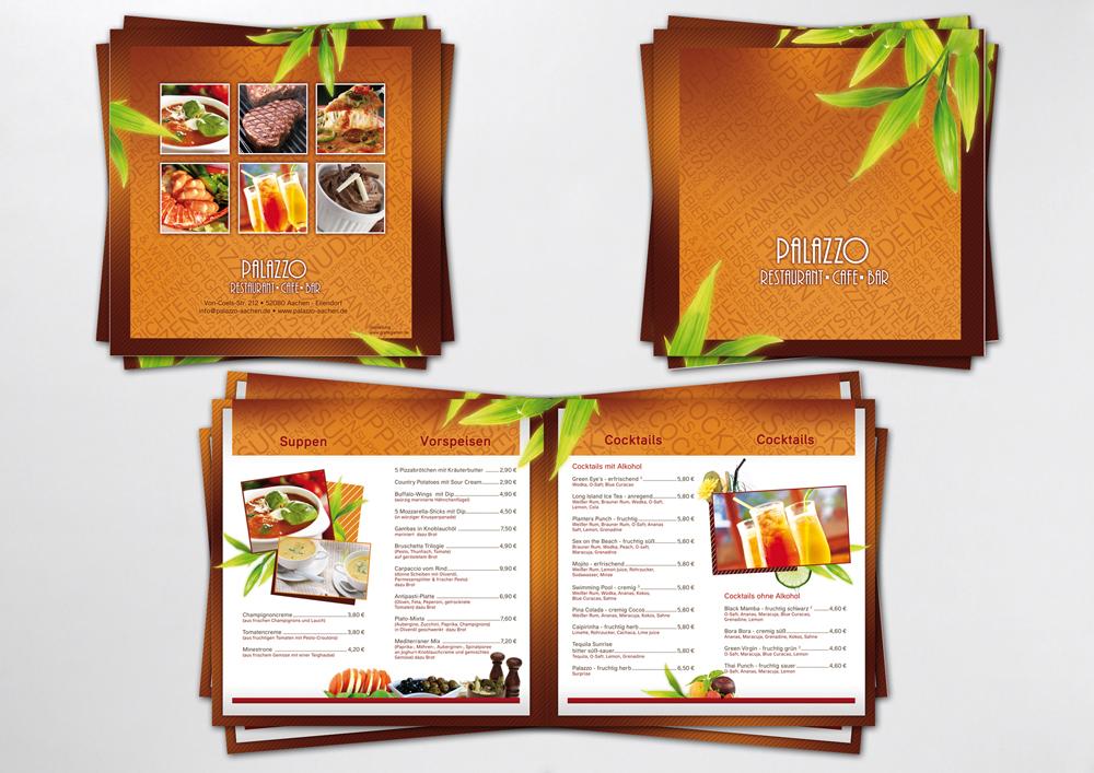 Thiết kế menu quán cafe sáng tạo