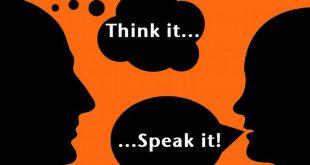 suy nghĩ trước khi nói