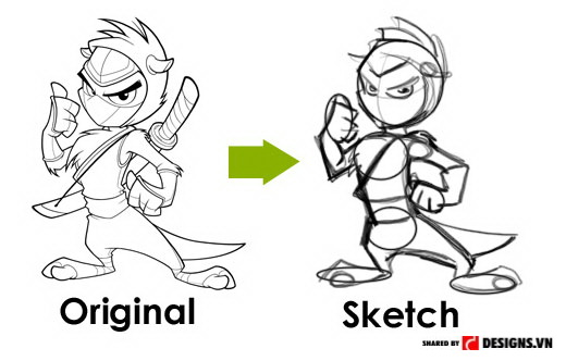 Kỹ năng phát thảo - 10 kỹ năng sáng tạo cần cho nhà thiết kế đồ họa