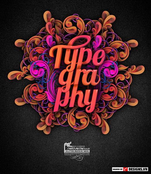 Thiết kế Typography - 10 kỹ năng sáng tạo cần cho nhà thiết kế đồ họa