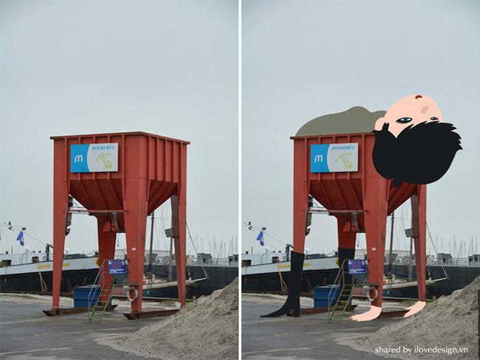 stop watch street illustrations - tineke meirink