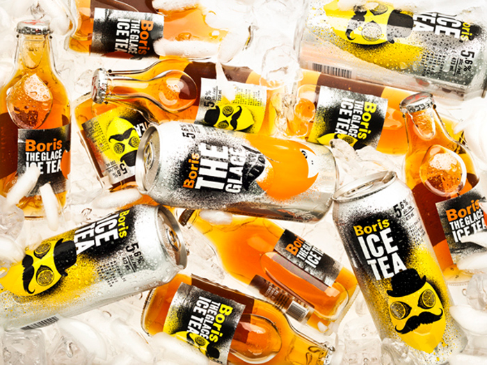 Boris ice tea | Packaging by lg2boutique