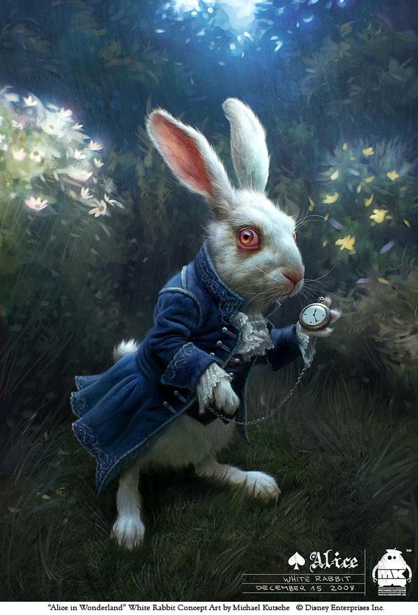 nhân vật 3d trong Alice