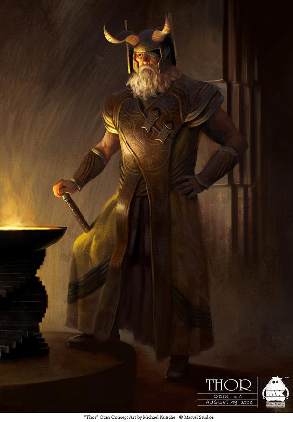 nhân vật 3d trong Thor