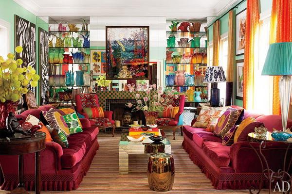 nội thất kiểu maximalism