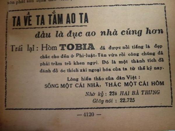 quan tài TOBIA