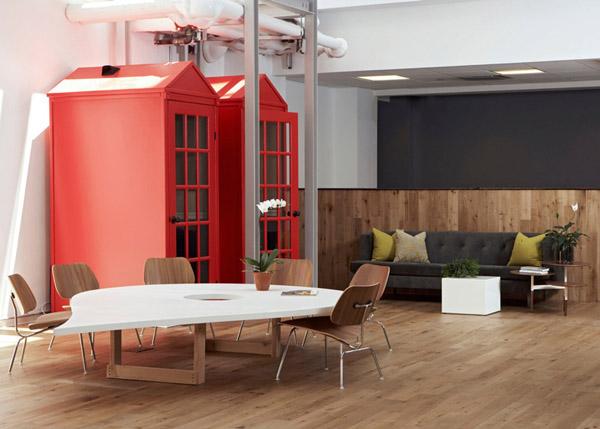 Văn phòng Foursquare tại New York