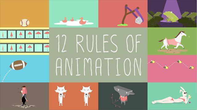 12 nguyên tắc tạo chuyển động