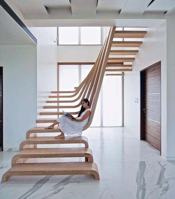 cầu thang sáng tạo