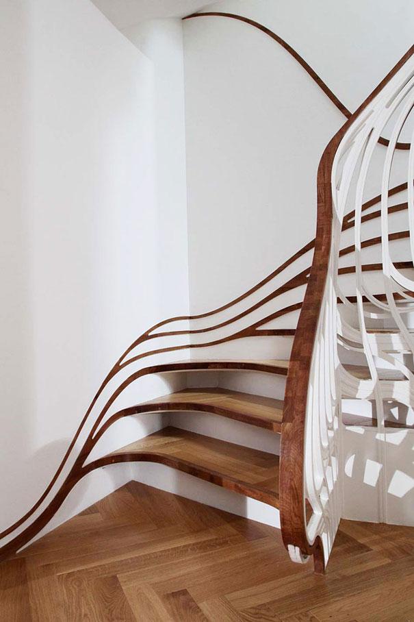 sáng tạo, cầu thang, thiết kế 2-2