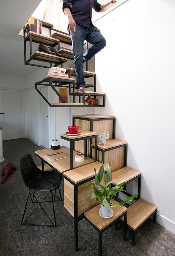 sáng tạo, cầu thang, thiết kế-13