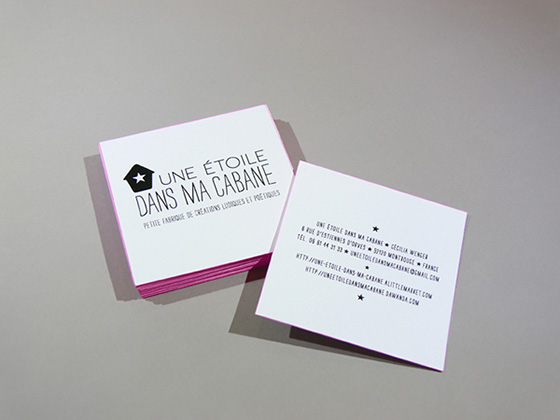 thiết kế in ấn name card