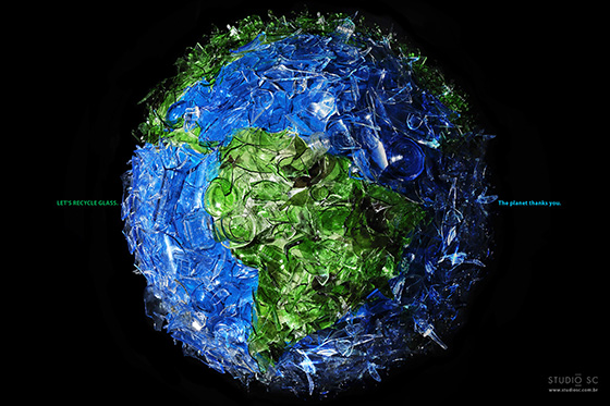 SAVE THE PLANET: GLASS