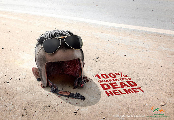 THAI HEALTH PROMOTION FOUNDATION: DEAD HELMET
