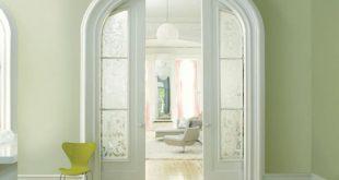 xanh bạc xu hướng màu nội thất 2015
