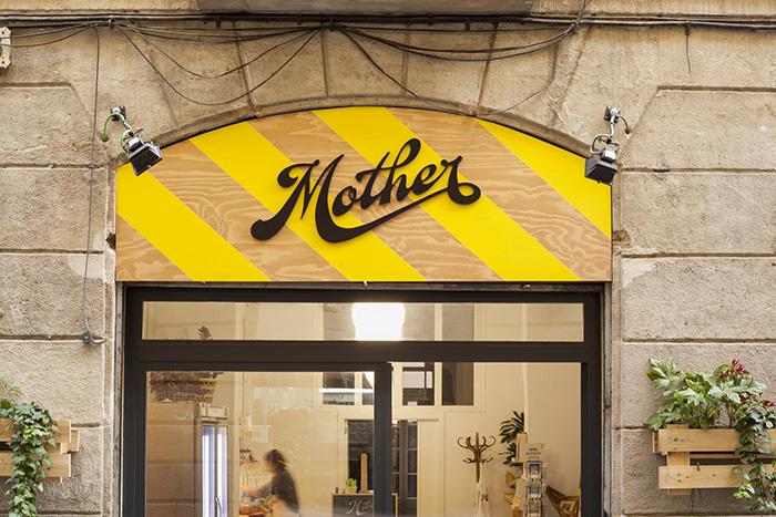 Hệ thống nhận diện thương hiệu Mother