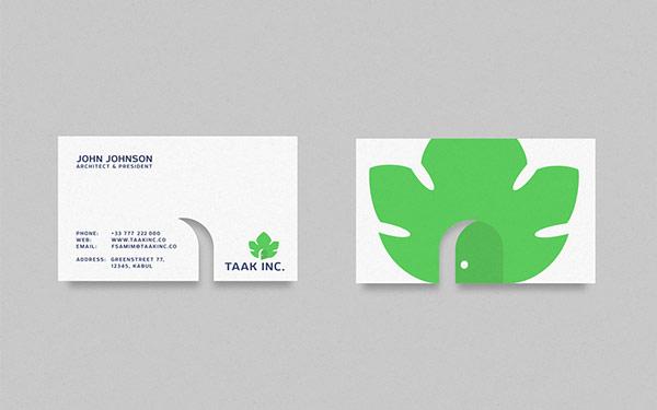 Thiết kế nhận diện thương hiệu Taak inc