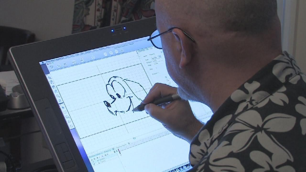 Vẽ hoạt hình 2D trên máy tính
