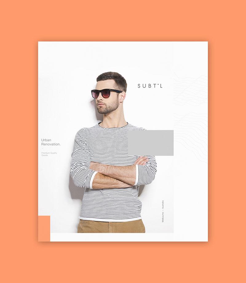 Hệ thống nhận diện thương hiệu Subtil