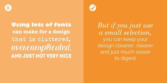 Quy tắc khi thiết kế