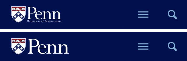 Điều chỉnh logo thu nhỏ