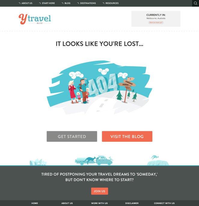 Trang 404 độc đáo
